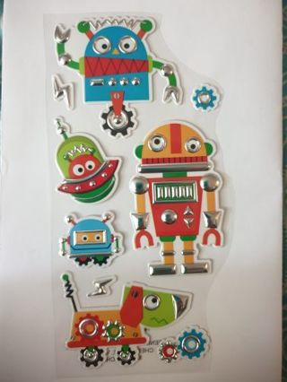 Robot stickers #3