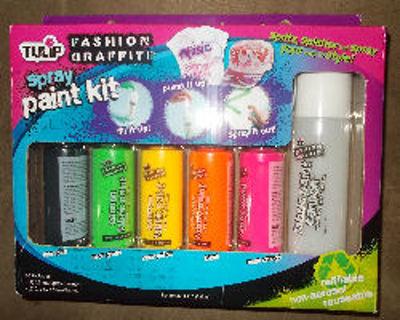 Free: HUGE Craft Lot~ Tye-Dye ~ Fashion Graffiti Spray Paint