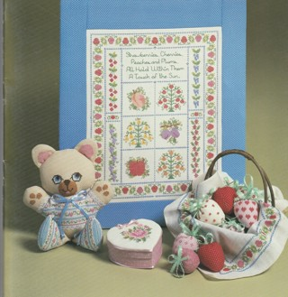 Cross Stitch Craft Leaflet: Samplers, Gifts and Home Decor