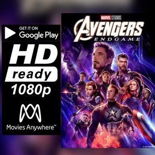 AVENGERS: ENDGAME  HD GOOGLE PLAY CODE ONLY