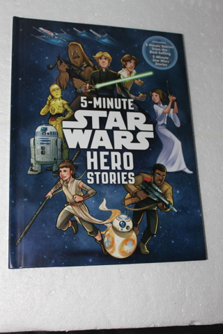 STAR WARS 5 HERO STORIES BOOK