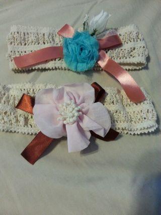 Baby or pre-teen headbands