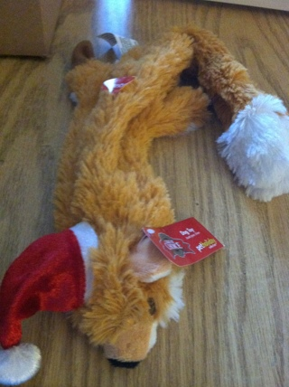 NEW WITH TAGS - NO STUFFING DOG TOY