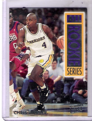 Chris Webber 1993-94 Ultra All-Rookie Series #15 Rookie Card