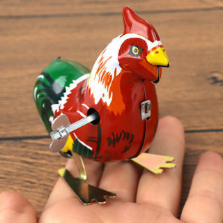 Cute Vintage Metal Cartoon ***** Animal Clockwork Wind Up Toy Children Kid Gift