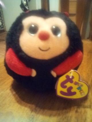 TY Beanie Baby 2011 DOTS Beanie Ballz