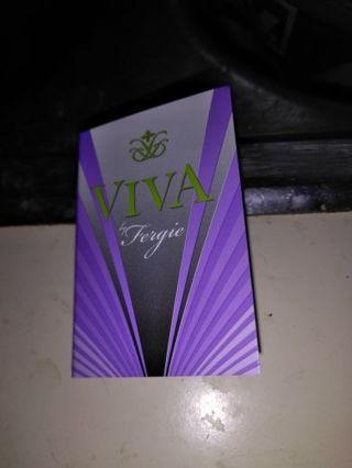 Avon VIVA BY FERGIE cologne sample...