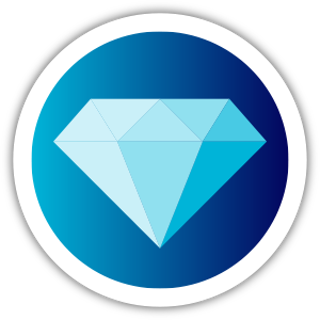 Collectible NFT Badge: Diamond #1 of 50