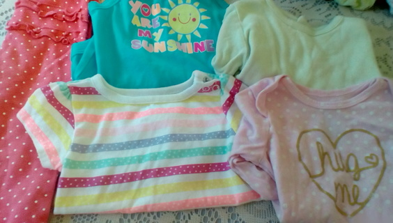 Girls Size (3-9) Months Clothing: EUC