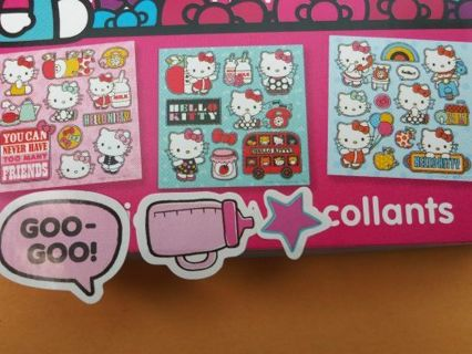 Hello kitty 3 sticker sheets No refunds! Win 2 or more get extra! Selling out shouldn't bought!