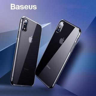 Baseus Ultra Thin Transparent Case For iPhone Xs Xs Max XR 2018 Luxury Soft Silicone Back Cover Fo