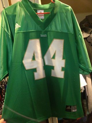 cheap for discount fd17a c571e Free: Authentic Notre Dame Football Jersey!!! - Sports ...
