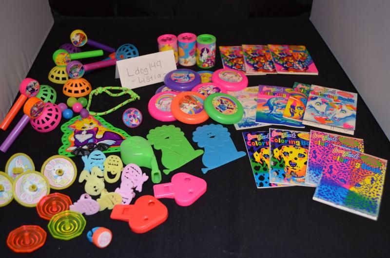 FREE Lisa Frank Huge Lot Birthday Goody Bag Toys Treats Prizes 50