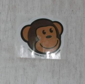 Think Geek  Monkey Sticker