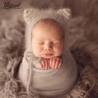 Ylsteed Crochet Newborn Mohair Hat Baby Photography Props Cute Animal Style Newborn Baby Caps  Inf
