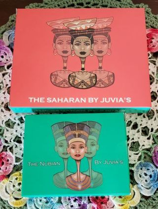 Set of 2 Juvia's Eyeshadow Palettes! The Saharan & The Nubian.