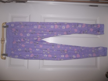Ladies' PJ bottoms, size small