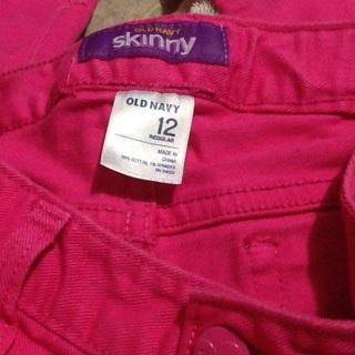 Pink Old Navy Skinny Jeans