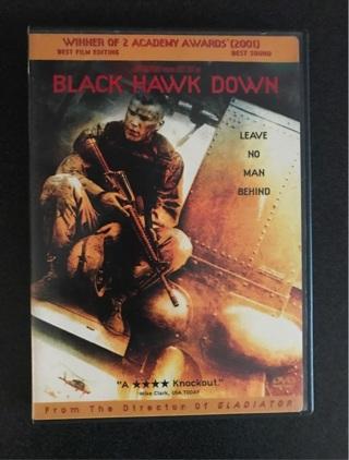 Black hawk down DVD... short auction!!!