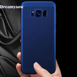Breathable Case For Samsung Galaxy J4 J6 J8 A6 Plus  A8 Plus 2018 S8 S9 Plus Note 8 S6 S7 Edge Hea