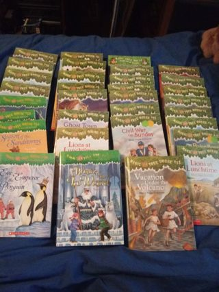 Huge New & Used Magic Tree House Book Auction