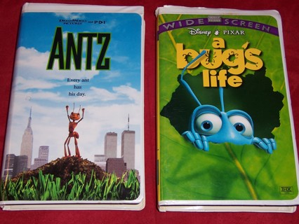 Free Antz Disney Pixar A Bug S Life Wide Screen On Vhs Vhs Listia Com Auctions For Free Stuff