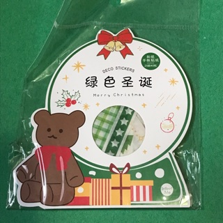 Christmas Kawaii sticker flakes Sack NEW