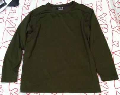 REI Olive Green L/S Base Layer Top Shirt BOYS XL! EUC!
