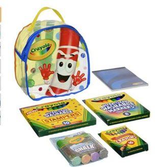 Crayola Art Buddy Pip-Squeak Character Backpack & Art Tools Kit