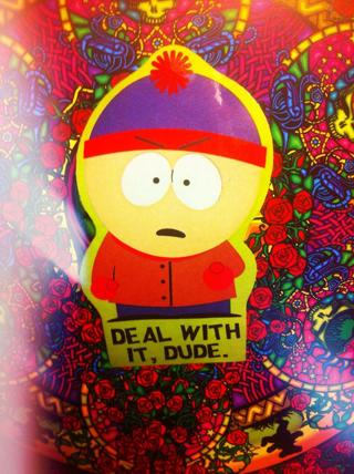 South Park Stan Marsh Sticker Offical 2010 Comedy Central sticker