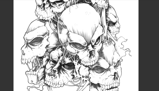 Free: 582 pages Skulls tattoo flash art pdf - Other Art - Listia.com ...