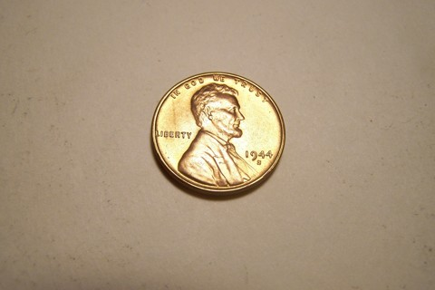 Gem BU 1944-S Lincoln Wheat Cent Wheatie Penny