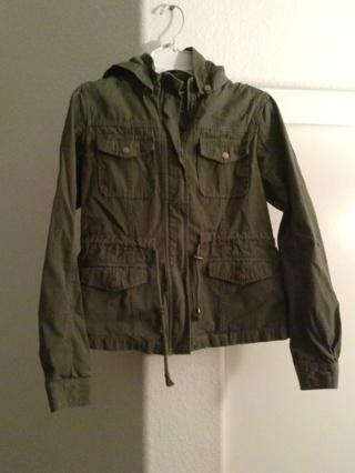1 green jacket