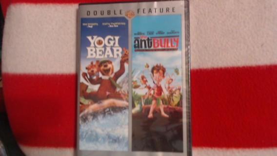 New Double Feature Movie. Yogi Bear + Ant Bully