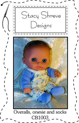 Free Chubbie Baby Doll Pattern For 8 To 8 5 Doll Onesie And