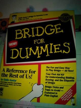 Authentic Bridge For Dummies - USED