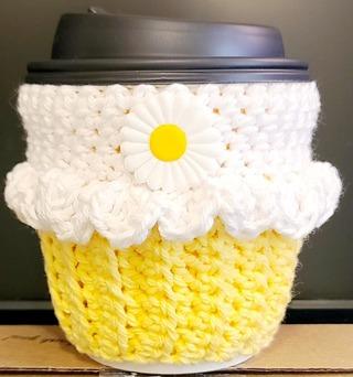 Crochet 1 C0FFEE CUPCAKE COZIE.***L@@K***