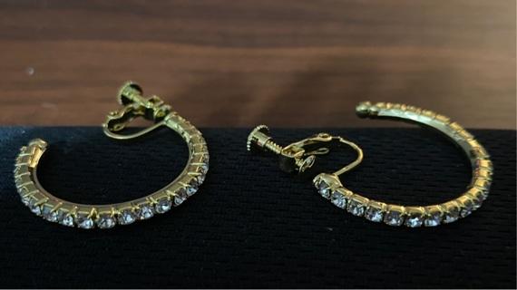 Hoop CZ Earrings