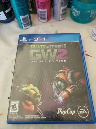 Plants Vs Zombies GW2 Deluxe Edition PS4