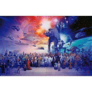 Super Awesome STAR WARS POSTER!