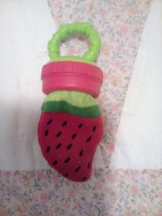 Baby food teether