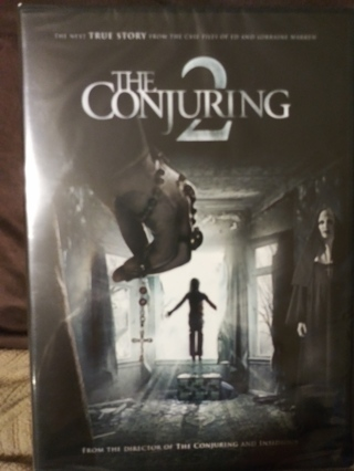 The Conjuring 2 unopened DVD