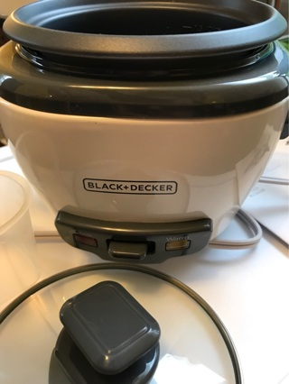 black and decker 3 cup rice cooker instructions