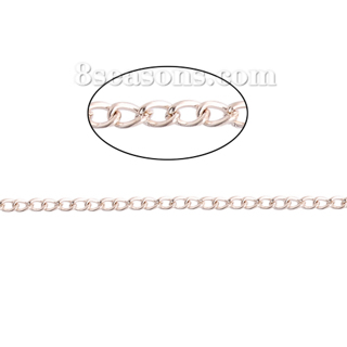 2 m Open Link Curb Chain