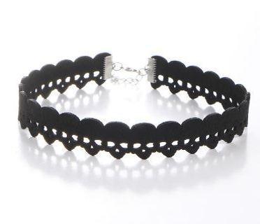 NEW Skull Head Design Necklace Black Velvet Short Chocker Neckless Cool Jewelry Intimate Accessories