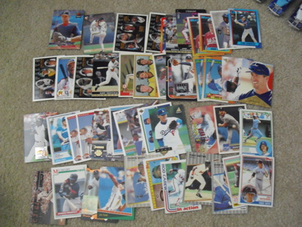 Nice Lot of 51 1980s 1990s Baseball star and Rookie Cards
