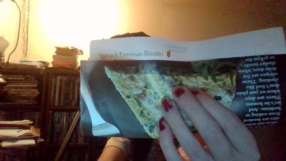*Relist* Spinach Parmesan Risotto Recipe