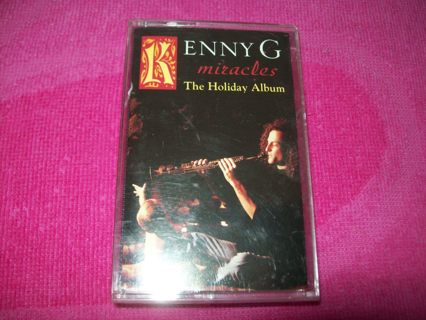 free kenny g miracles the holiday album christmas cassette tape