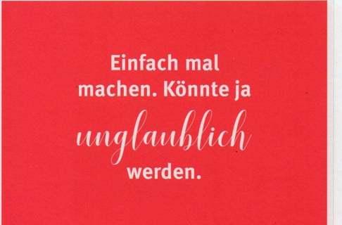 FUNNY GERMAN ad postcard * 5