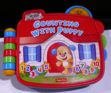 FISHER PRICE COUNTING WITH PUPPY BOOK